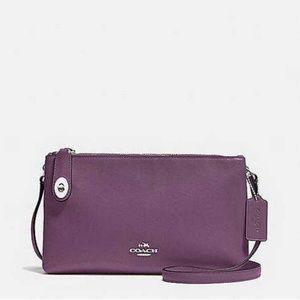 Authentic Coach Purple Clutches Handbags